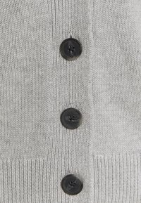 GAP - WIDE PLACKET SLOUCHY  - Chaqueta de punto - light heather grey - 2