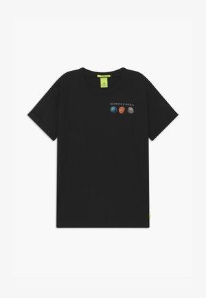 SHORT SLEEVE WITH PHOTOPRINT - Print T-shirt - black