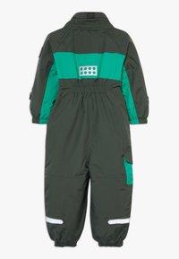 LEGO Wear - LWJULIO 707 SNOWSUIT - Snowsuit - dark green - 2