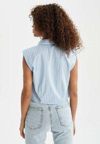 DeFacto - Button-down blouse - blue - 2
