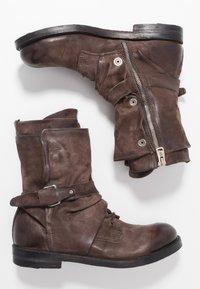 A.S.98 - SAMURAI - Lace-up boots - fondente - 1