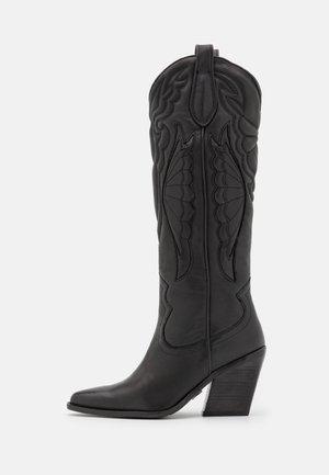 NEW KOLE - Boots med høye hæler - black
