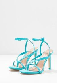 Call it Spring - ZELDAA - Sandály na vysokém podpatku - bright blue - 4