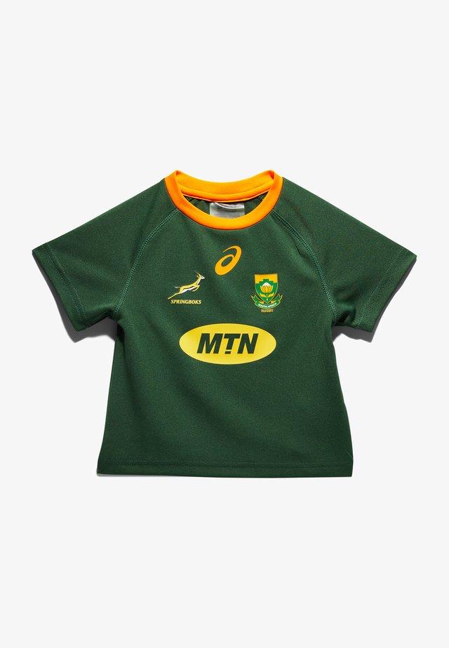 T-shirt con stampa - oak green