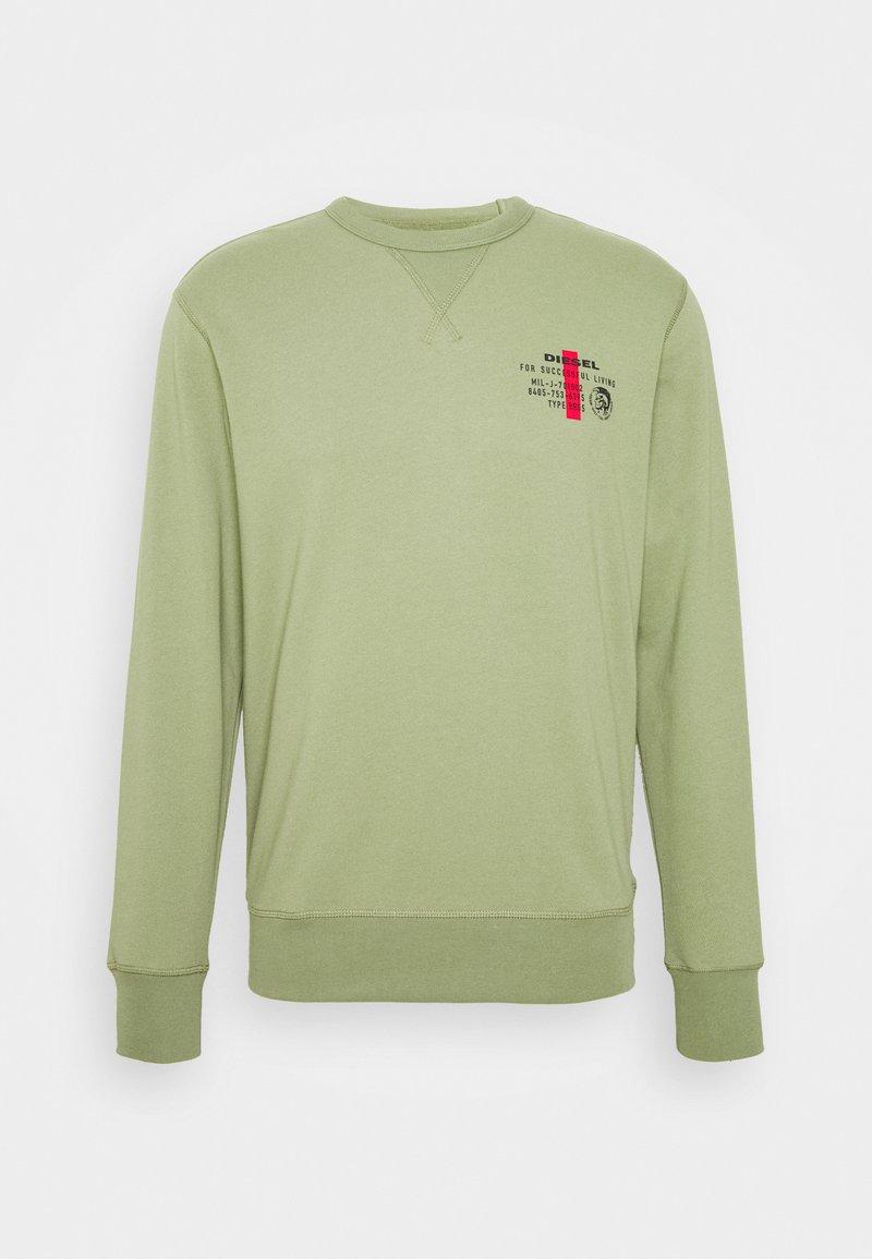 Diesel - WILLY SWEAT-SHIRT - Sweatshirt - olive