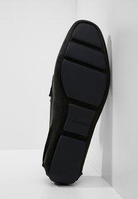 Calvin Klein - MIKOS - Moccasins - black - 4