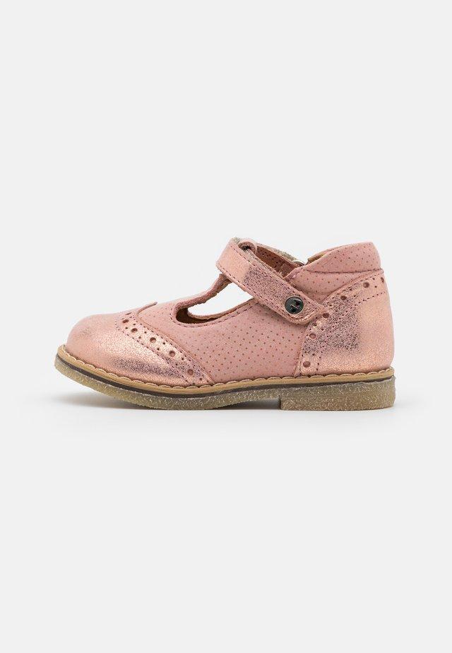 ELIS - Ankle strap ballet pumps - pink shine