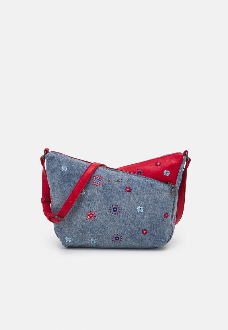 Desigual - BOLS JULY HARRY MINI - Across body bag - carmin