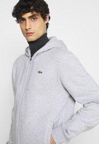 Lacoste - CLASSIC HOODIE - Sweatshirt - silver chine/elephant grey - 3