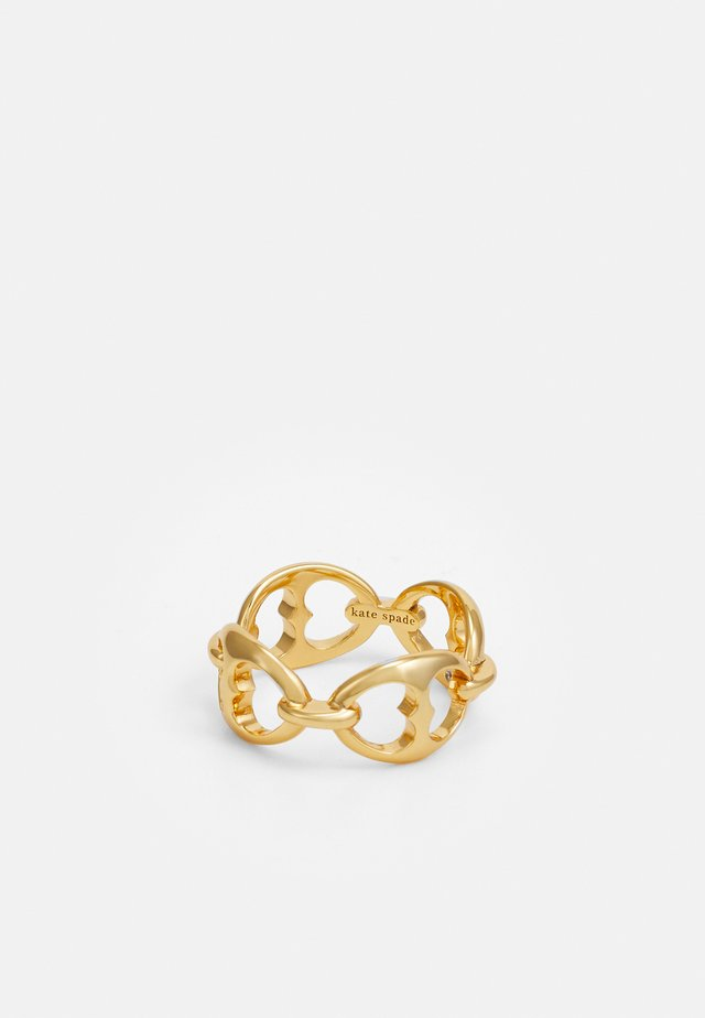 DUO LINK - Bague - gold-coloured
