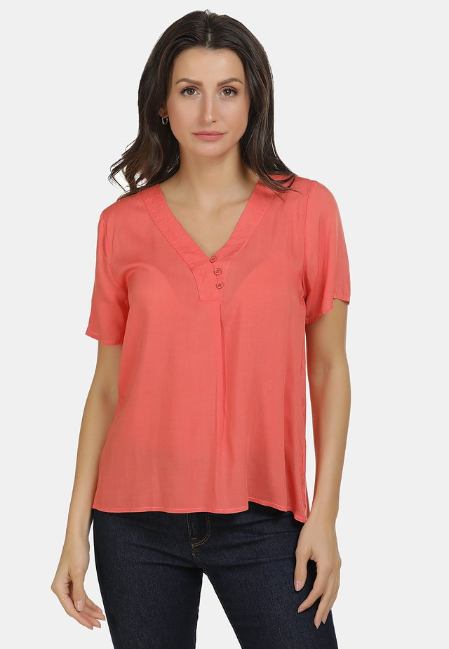 BLUSE - Bluzka - orange