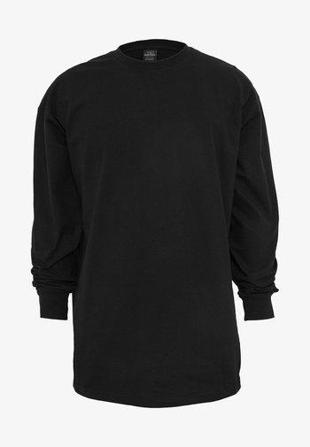 TALL TEE  - Maglietta a manica lunga - black