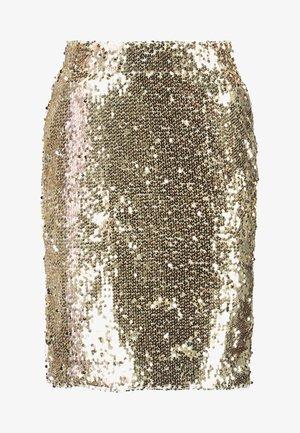 BSCORAS SLIM - Pouzdrová sukně - gold