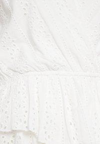 NA-KD - CROCHET WRAP - Blouse - white - 2