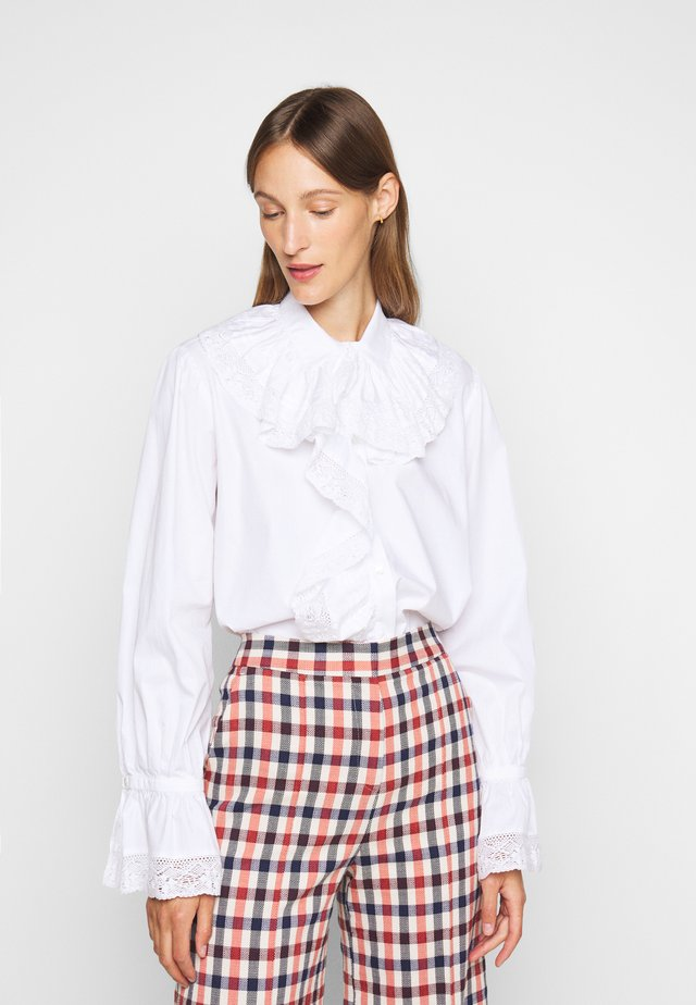 RUFFLE  - Blouse - white