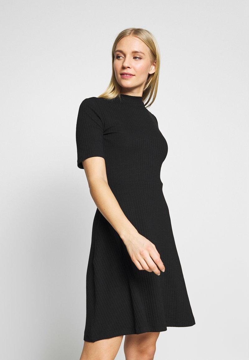Anna Field - BASIC - Jersey dress - black