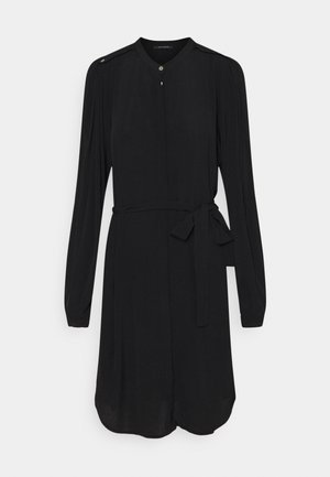 LILLI CACILIA SHIRT DRESS - Košilové šaty - black