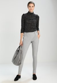 Kaffe - JILLIAN SOFIE  - Trousers - light grey melange - 1