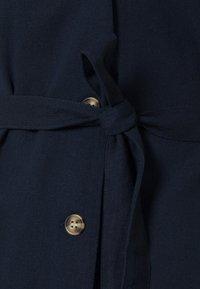 Vero Moda - Vestido camisero - navy blazer - 2