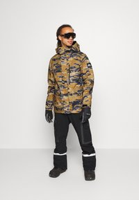Quiksilver - MISSION - Snowboard jacket - military olive - 1