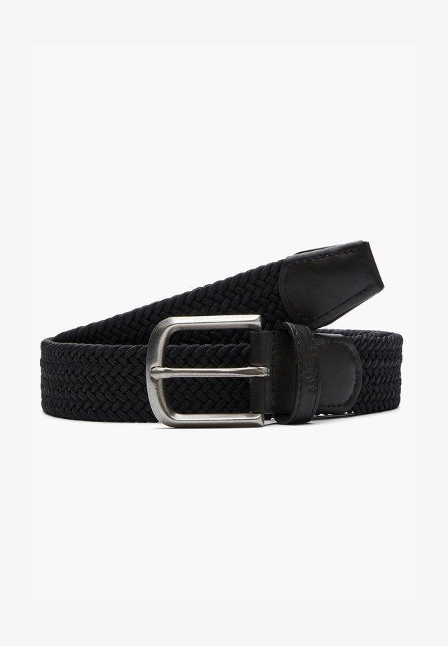 MIT DORNSCHLIESSE - Braided belt - black
