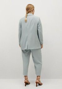 Violeta by Mango - Short coat - azul celeste - 2