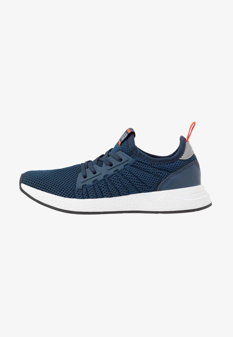 Jack & Jones Junior - JRMIKE  - Sneakersy niskie - majolica blue