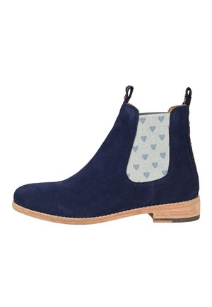 CRICKIT CHELSEA BOOT JULE MIT HERZCHEN - Ankle boots - blau