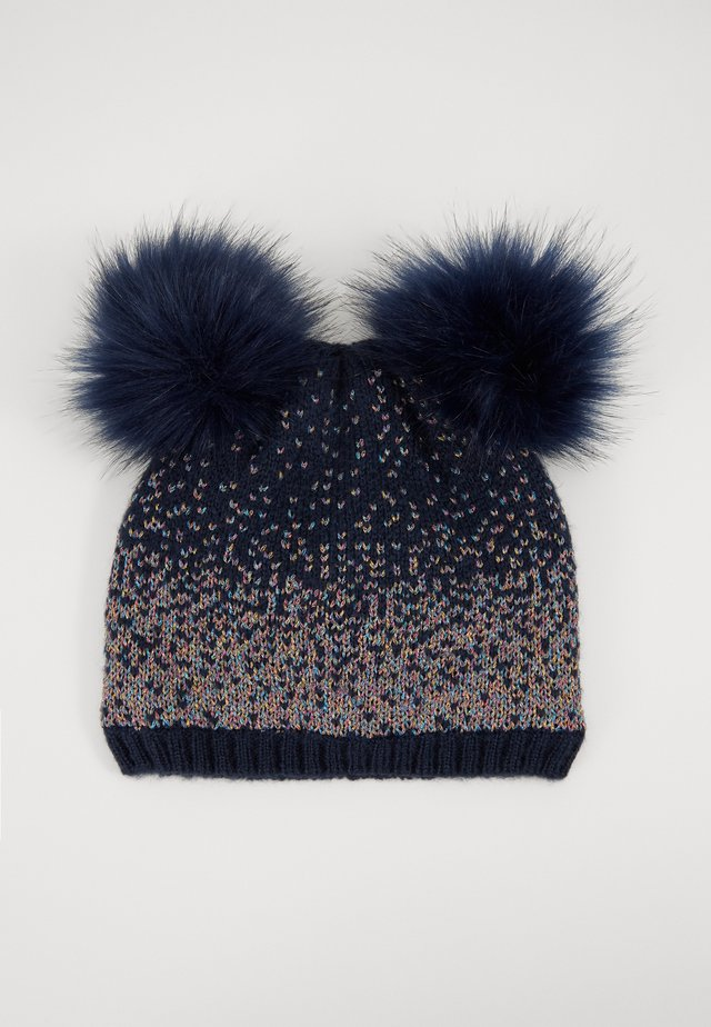 MINI GIRL - Beanie - navy/multicolor