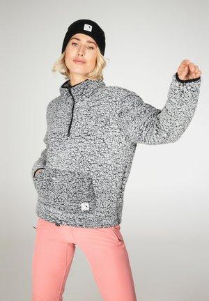 CAMILLE - Fleece jumper - true black