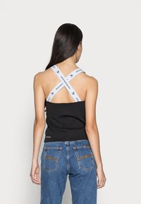Calvin Klein Jeans - SQUARE NECK TANK - Top - black - 2