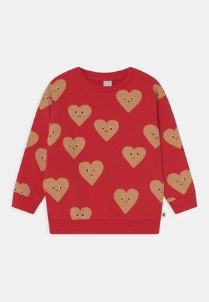HEARTS UNISEX - Sweater - red