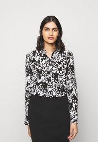 HUGO - ELIFIA - Button-down blouse - black - 0