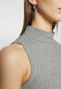 Gina Tricot - TARA TANK - Top - grey melange - 5