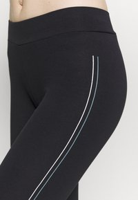 ONLY Play - ONPJOLIVIA LIFE - Tights - black/white/goblin blue - 5