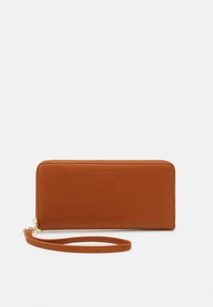 SMILLA - Wallet - dark camel