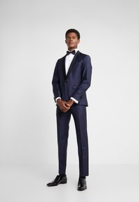 KARL LAGERFELD - SUIT TIGHT - Traje - dark blue - 0