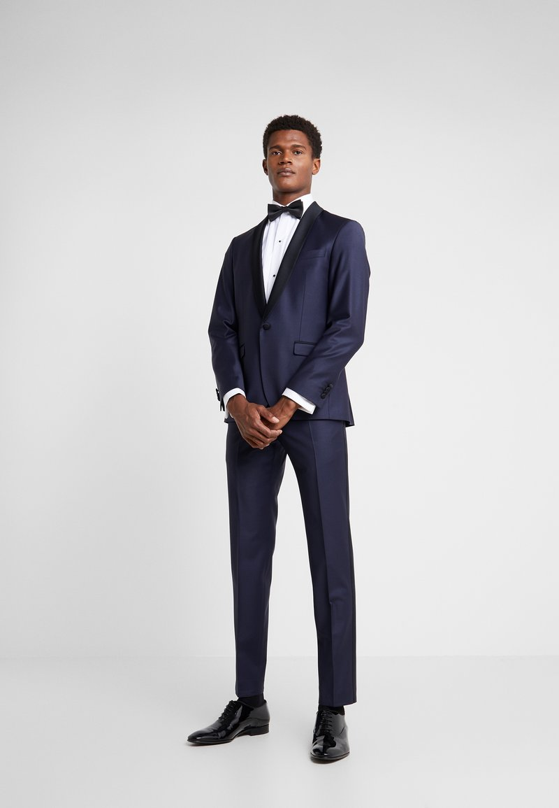 KARL LAGERFELD - SUIT TIGHT - Traje - dark blue