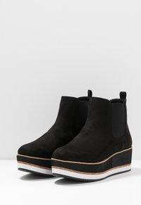 Bullboxer - Kotníkové boty na platformě - black - 2