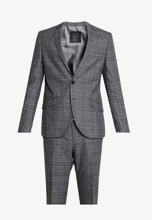 YARDLEY SUIT - Dress - charcoal blue