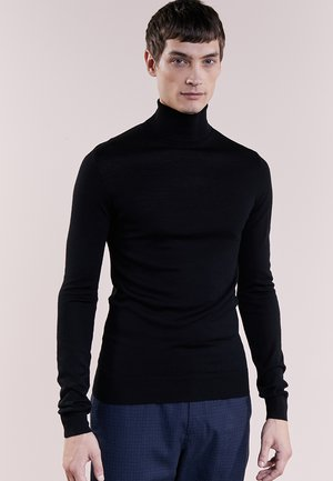 CHARLES ROLL NECK - Trui - black