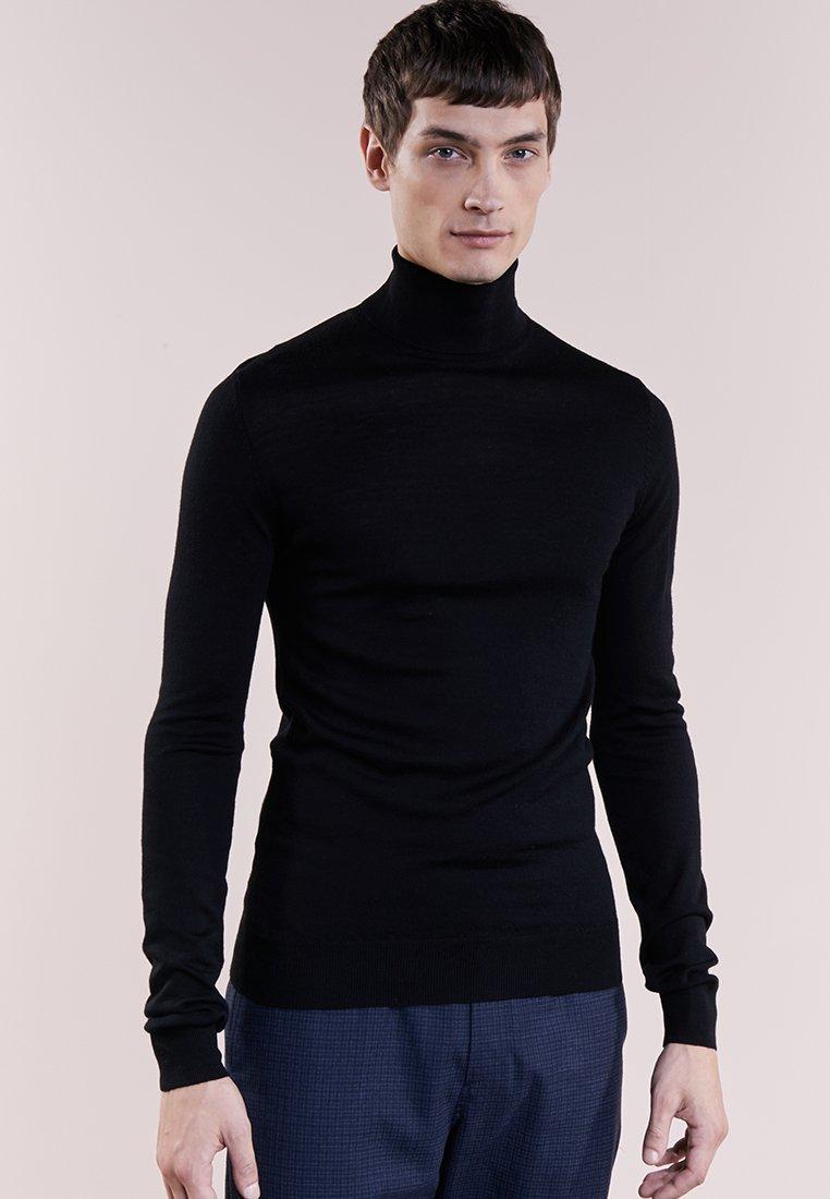 Bruuns Bazaar - CHARLES ROLL NECK - Trui - black