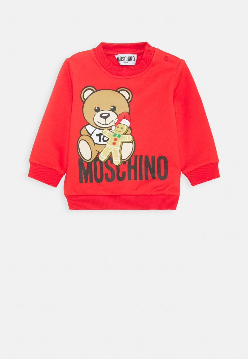 MOSCHINO - UNISEX - Sweatshirt - poppy red