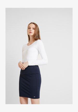 ONLLIVE LOVE O-NECK 2PACK - Long sleeved top - black/white