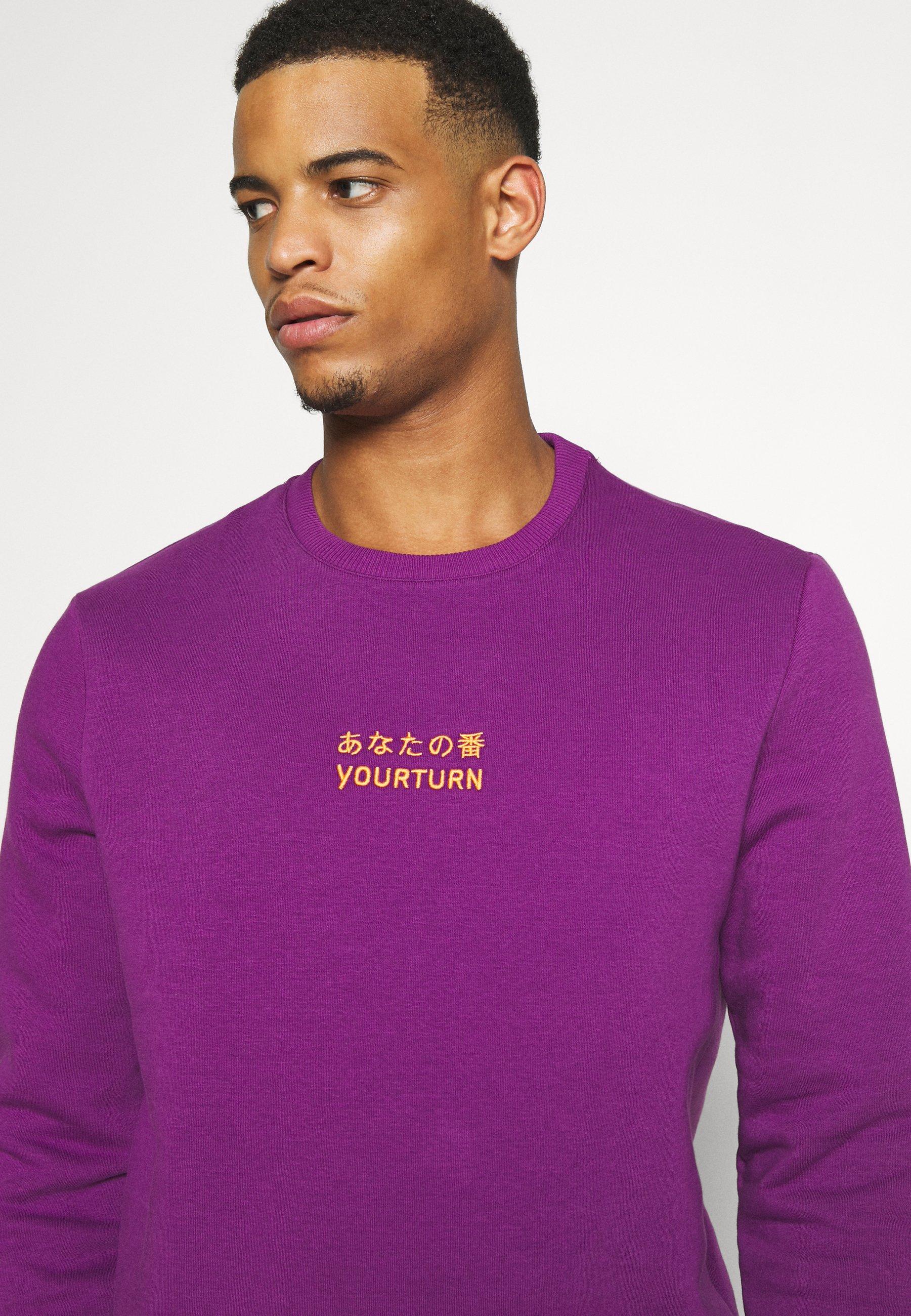 YOURTURN Sweatshirt -  purple gb2YV