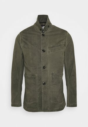 BRONSON BLAZER - Summer jacket - forest night od