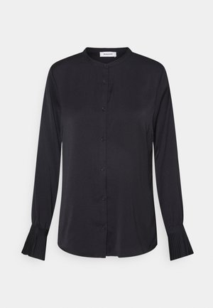 FOSTER - Button-down blouse - black