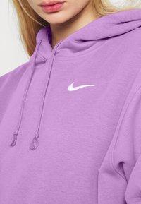Nike Sportswear - HOODIE TREND - Sweater - violet shock/white - 4