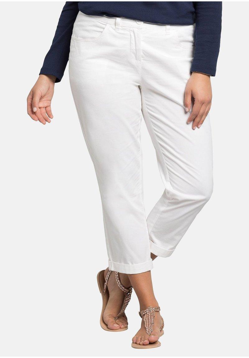 Sheego - Broek - white