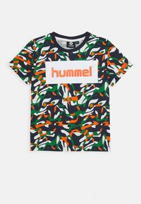 Hummel - HMLJAMES - Print T-shirt - blue nights - 0